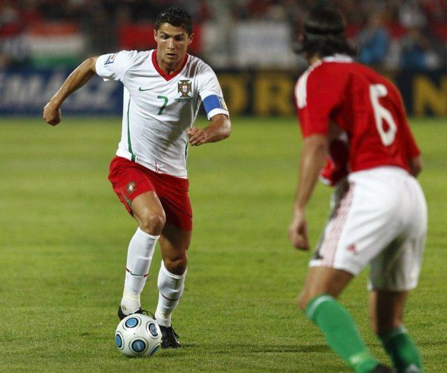 Cristiano Ronaldo, role model, soccer