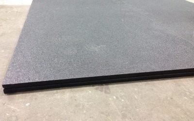 ProDeck Solid Sheet with FASCOAT top coating; 48″ wide x 96″ long x 1″ thick; solid bottom – 10 SHEETS