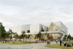 Paris 2024 – La future Arena Porte de la Chapelle se dévoile