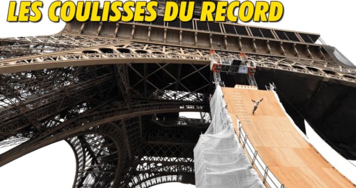 En vidéo – Dans les coulisses du record de Taïg Khris à la Tour Eiffel