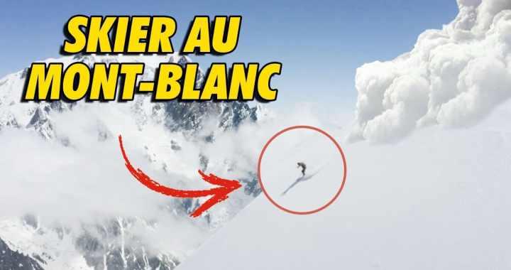 En vidéo – Ski de pente au Mont-Blanc avec Léo Slemett et Vivian Bruchez