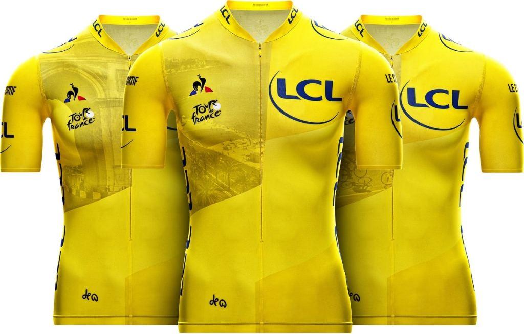 maillot jaune Tour de France 2020