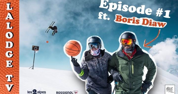 En vidéo – La rencontre du basket et du ski avec Hugo Laugier et Boris Diaw