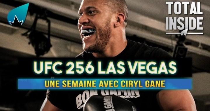 En vidéo – Dans les coulisses de l'UFC 256 avec Cyril Gane