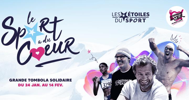 Le Sport a du Coeur – Les sportifs Français se mobilisent pour les Restos du Cœur