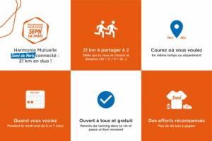 Une édition connectée du semi-marathon de Paris en mars