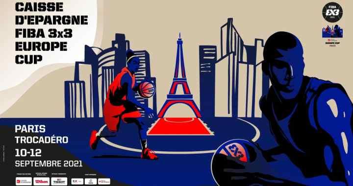 Le Trocadéro choisi pour la Caisse d'Epargne FIBA 3×3 Europe Cup