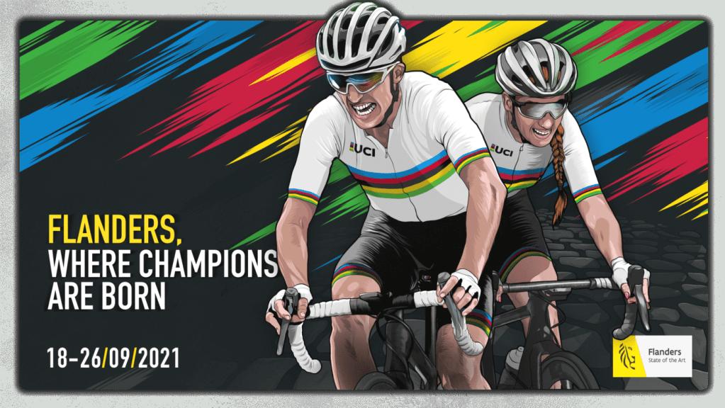 championnats du monde de cyclisme sur route 2021