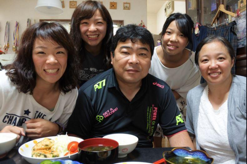 川井友香子 家族写真