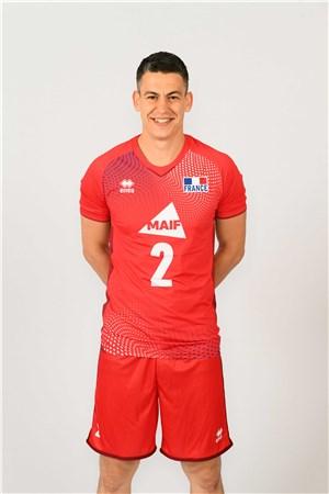 ジェニア・グルベニコフ、GREBENNIKOV、バレーボールフランス男子選手(2020-2021東京オリンピック代表)