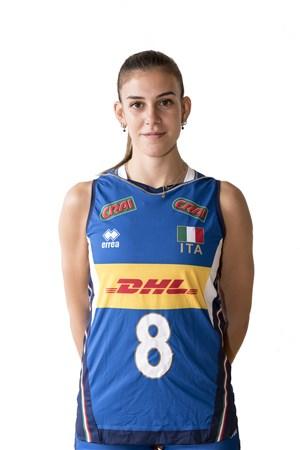 アレッシア・オッロ/Alessia Orro、バレーボールイタリア女子選手(東京オリンピック2020-2021代表)