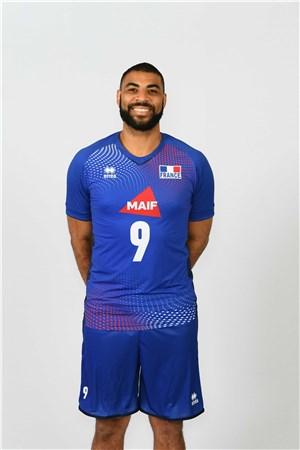 イアルバン・ヌガペト(エンガペ)、NGAFETH、バレーボールフランス男子選手(2020-2021東京オリンピック代表)
