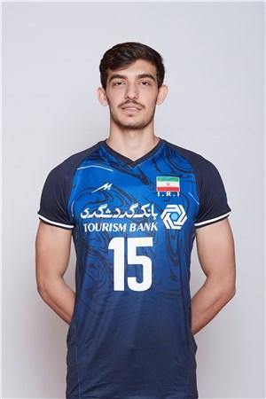 15アリアスガル・モジャラド/Aliasghar Mojarad、バレーボールイラン代表選手(東京オリンピック2020-2021出場)