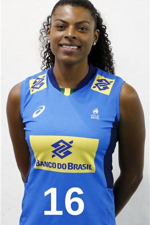 フェルナンダ・ガライ・ロドリゲス/Fernanda Garay Rodrigues、バレーボールブラジル代表選手(東京オリンピック2020-2021出場)