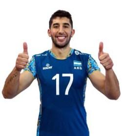 ニコラス・メンデス/Nicolás Méndez、バレーボールアルゼンチン代表選手(東京オリンピック2020-2021出場)