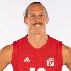 テイラー・アヴェリル、バレーボールアメリカUSA代表男子選手