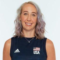 ミシェル バーチ ハックリー、バレーボールアメリカUSA代表女子選手