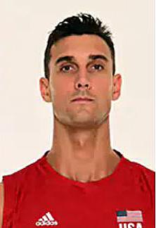 カイル・ラッセル、バレーボールアメリカUSA代表男子選手