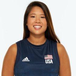 ジャスティン ウォン オランテス、バレーボールアメリカUSA代表女子選手