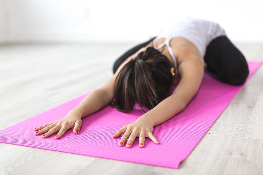 Étirement des muscles du dos