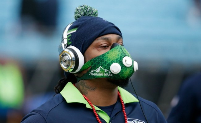 Marshawn Lynch Apparently Retires In The Middle Of Super