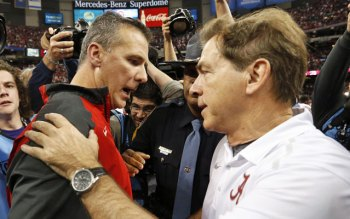 A Meyer/Saban January battle for intergalactic supremacy would be a great way to cap this college football season.