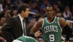 Coaching Rondo here is apparently a difficult task. (USATSI)
