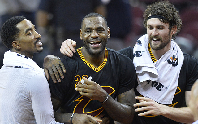 This was probably how the Cavs reacted to Crowder wanting an apology. (USATSI)