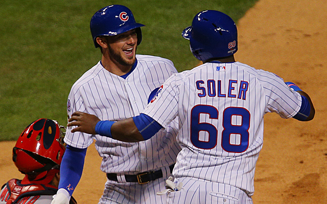 Kris Bryant and Jorge Soler both homered for the Cubs in Game 3.