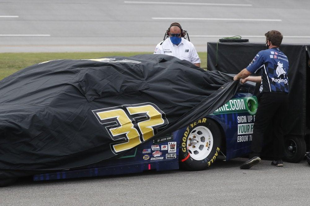 Photo of NASCAR race at Talladega Superspeedway postponed by rain
