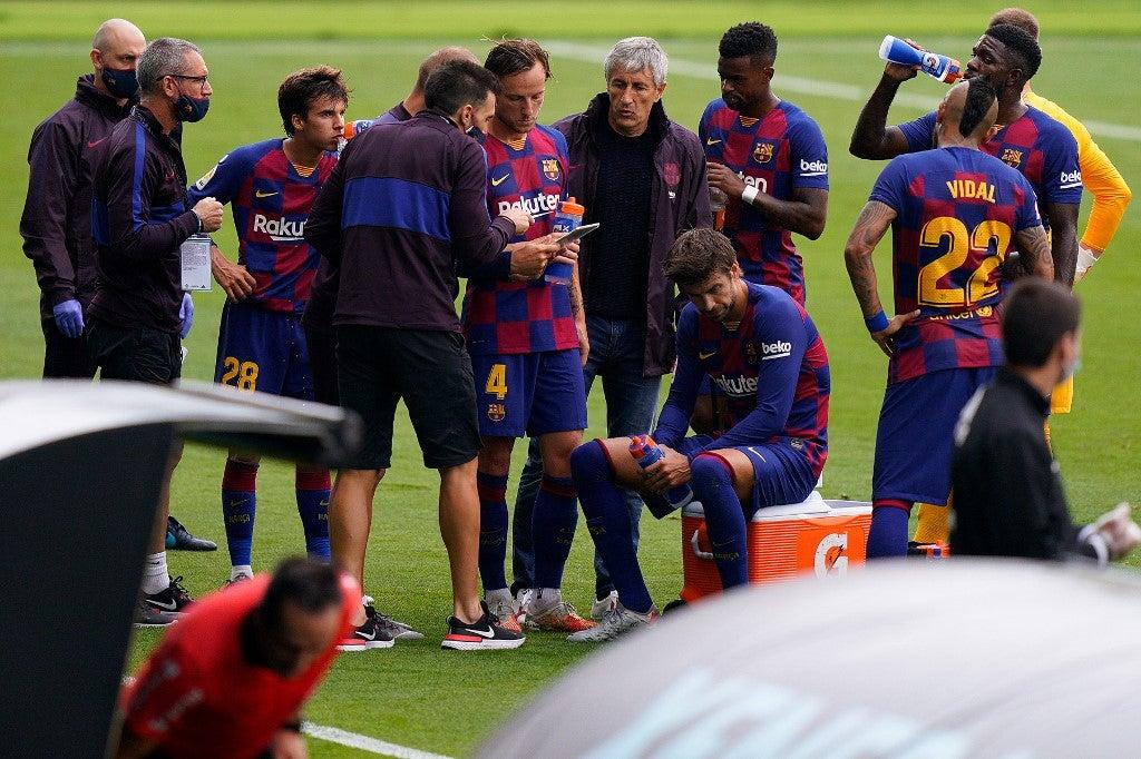 Photo of Barcelona coach Setien dismisses discuss of participant unrest