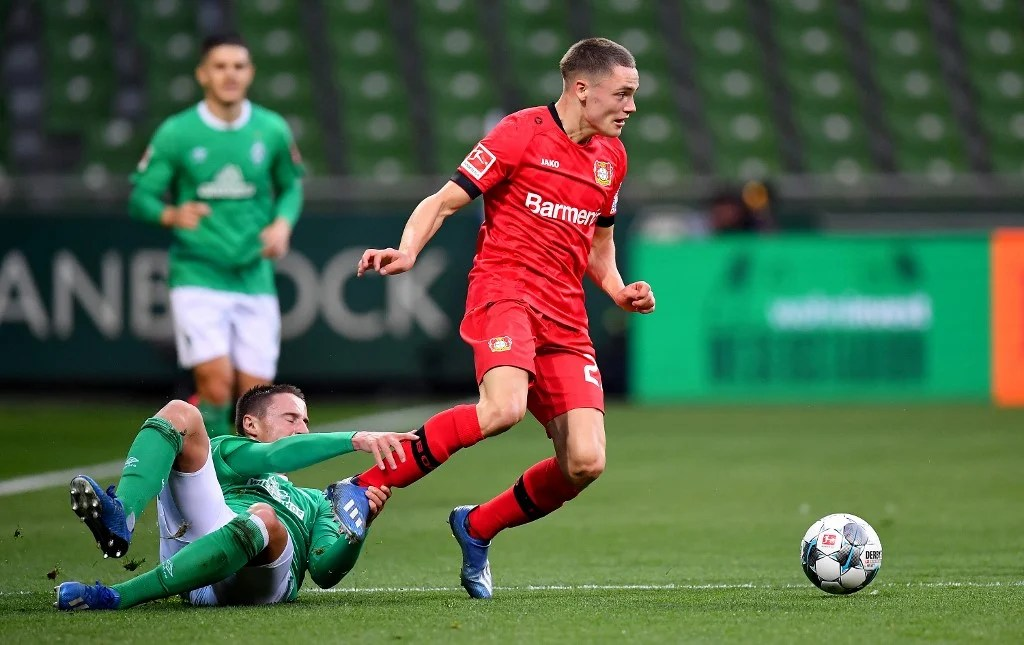 Photo of Wirtz becomes Bundesliga's youngest scorer at 17 years and 34 days