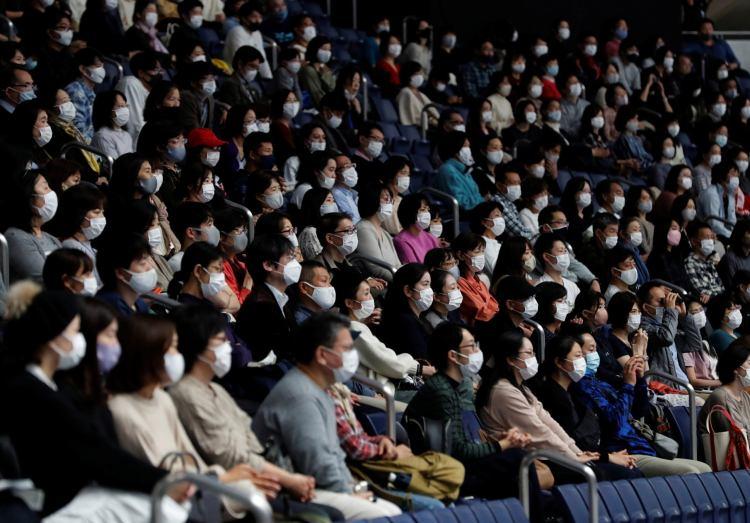 gymnastics olympics tokyo crowd fans