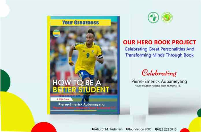 Aubameyang celebrated by young Ghanaian, Aburof M. Kush-tain (a.k.a. African Youth Commandant)