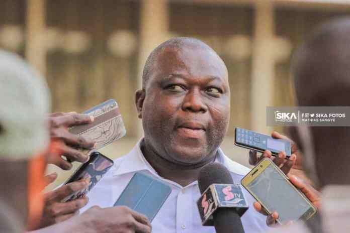 Head Coach of Real Tamale United, Shaibu Ibrahim Tanko