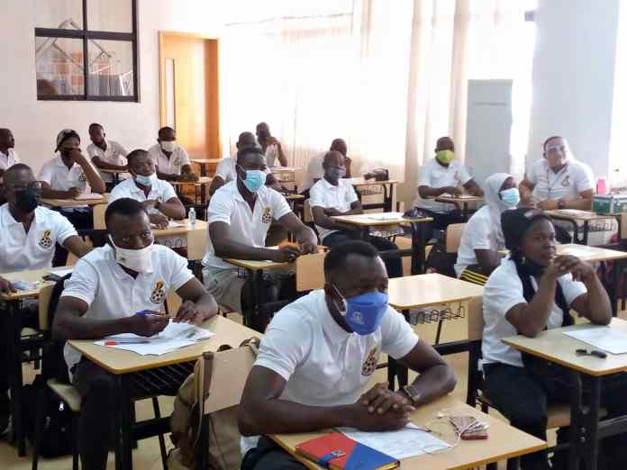 GFA License D coaching course gets underway in Tamale