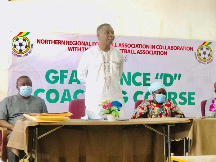 The Chairman of the Northern Regional Football Association, Alhaji Abu Hassan Rhyzo