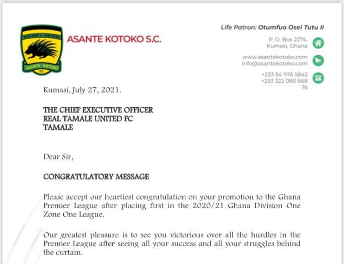 Portion of Kotoko's letter to RTU