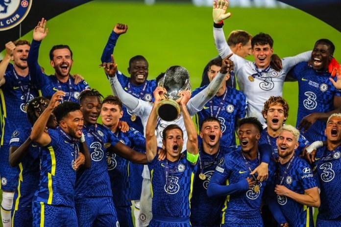 Chelsea win Super Cup