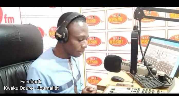 Kwaku Oduro of Kesmi FM
