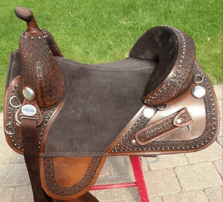 bob marshall sports saddle treeless wrangle trail rider