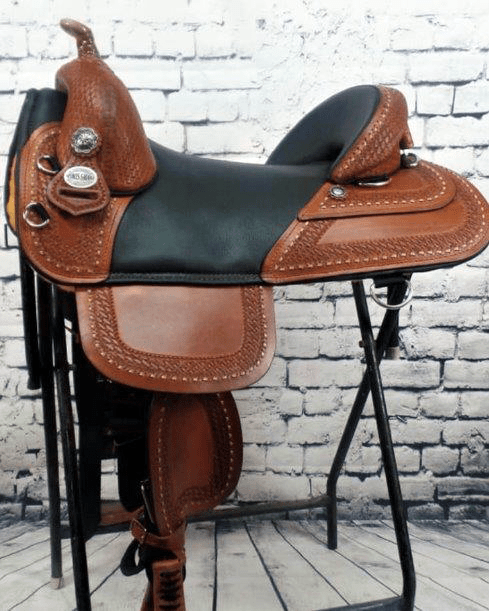 Equestrian horse saddle custom trail