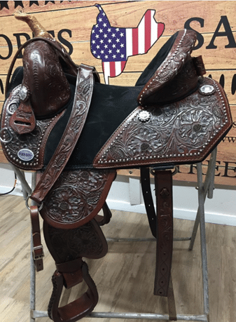 Hand Carved Barrel Racer