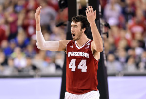 Frank Kaminsky has signed with BDA Sports' Kevin Bradbury (Credit: Bob Donnan-USA TODAY Sports)