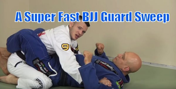 How to do a Super Fast Guard Sweep