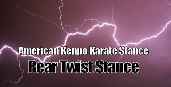 Rear Twist Stance