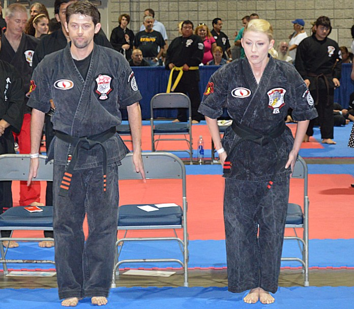 Attention Stance in American Kenpo Karate