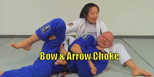 How to do the Bow & Arrow Choke