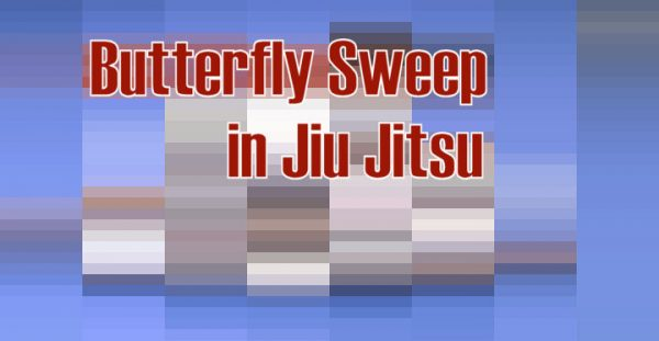 How to do a Butterfly Sweep in Jiu Jitsu