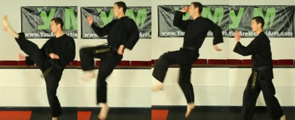 How to do a Jumping Front Kick